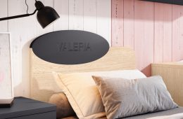 cama con cabecero personalizable
