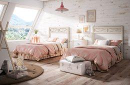camas con cabecero de madera Iznalloz