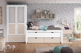 dormitorio juvenil pared úbeda