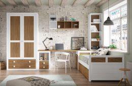 Dormitorio juvenil madera Maracena