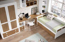 Dormitorio juvenil madera Santa Fe