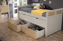cama con almacenajes juvenil