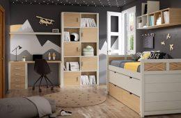 Dormitorio juvenil madera Almuñecar