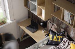escritorio juvenil madera Estepona