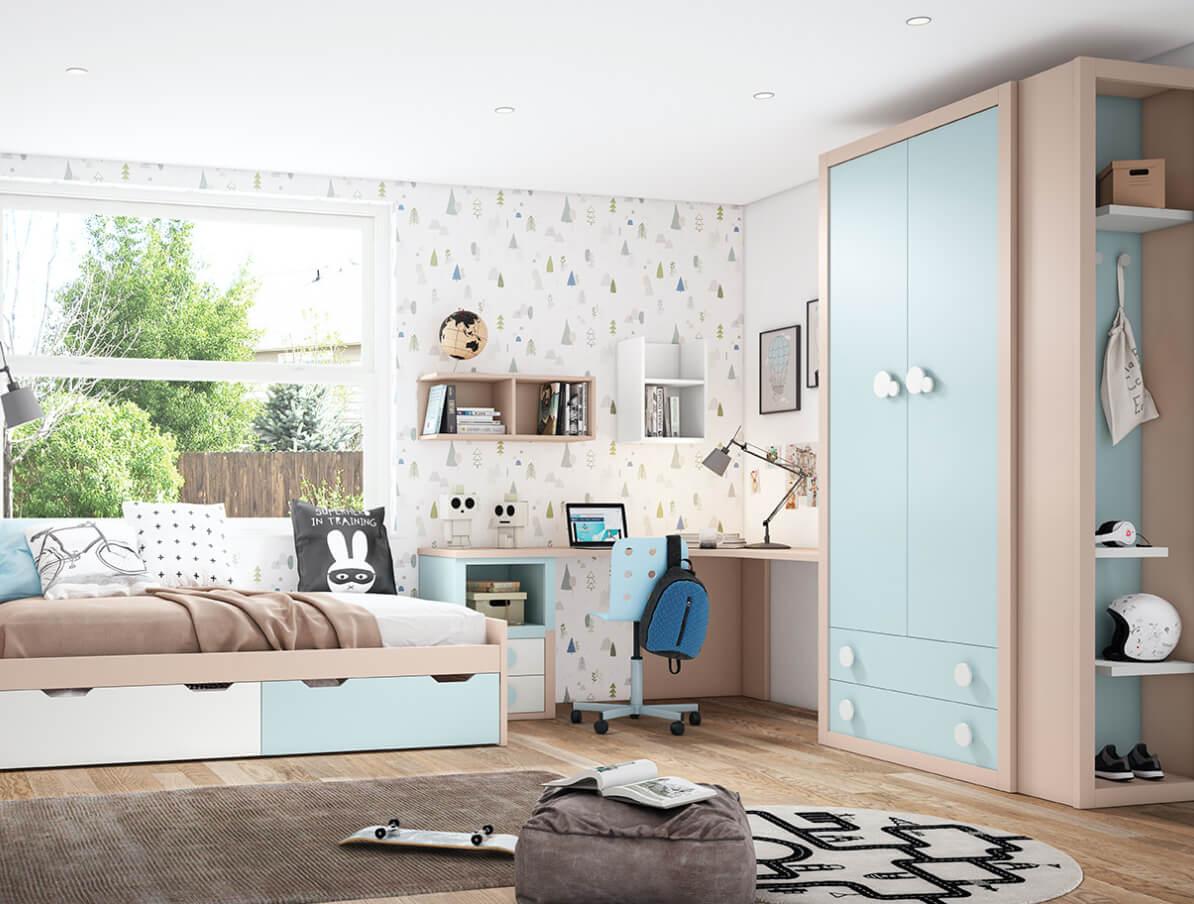 Dormitorio juvenil niño Pulianas