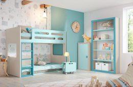 Dormitorio juvenil niño Jun