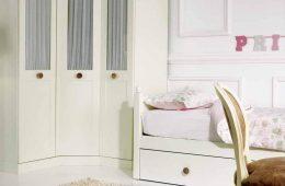 armario esquinero tres puertas infantil