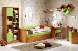 Habitación_juvenil_de_madera_macizo_con_escritorio_Motril_Granada