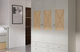 armario habitación cajonero cabaña