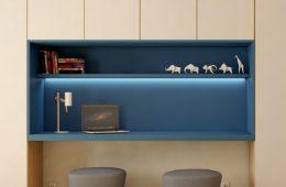 armario con escritorio plegable