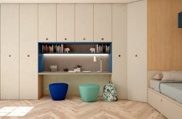 armarios de escritorio para habitación juvenil