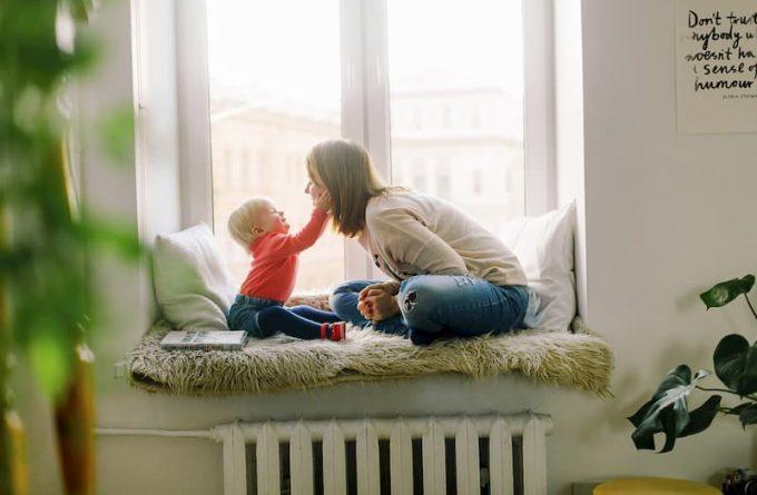 imagen madre e hijo
