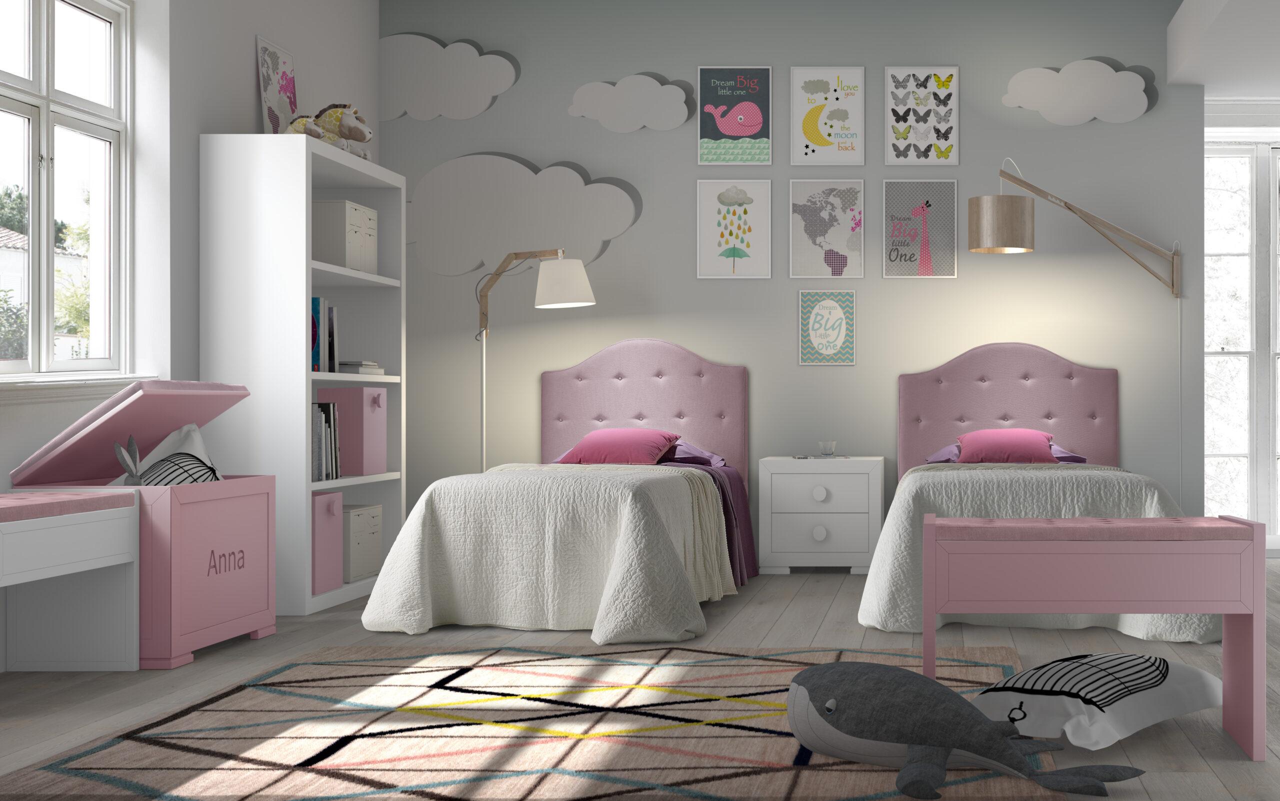 Los mejores dormitorios juveniles para compartir con dos o más hermanos