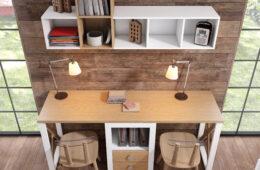 Espacios de trabajo integrados y oficinas funcionales