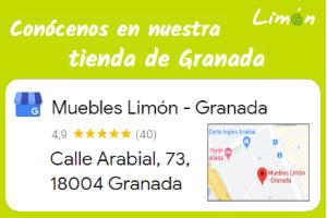 conócenos en nuestra tienda de Granada