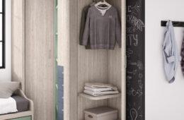 Soluciones para ordenar el cuarto de los niños
