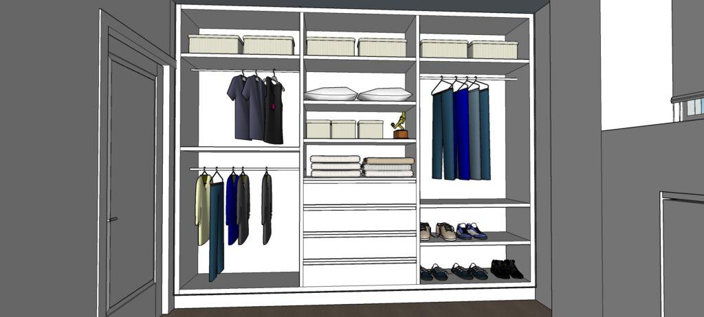 Cómo organizar un armario pequeño, ideas que cambiarán tu vida