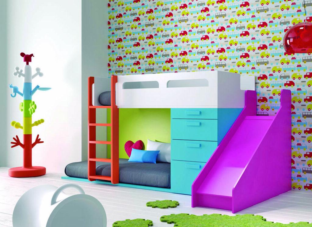 ¿Cómo diseñar habitaciones divertidas para niños?