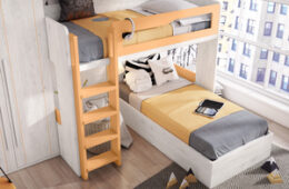 Dormitorio juvenil con litera