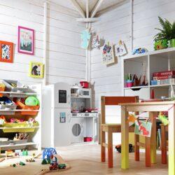 Cómo decorar una zona de juegos en casa